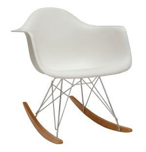Chaise à bascule RAR blanc - Vitra
