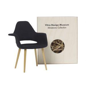 Miniature chaise Organic noire - Vitra