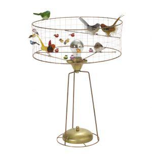Lampe de table Tambour Volière