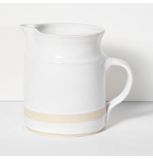 Pichet Organic Sand blanc - 1L
