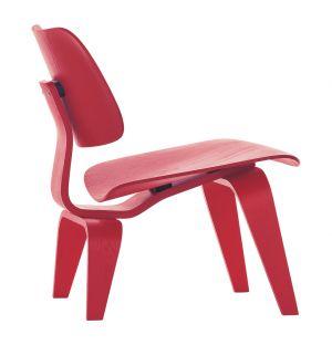 Chaise LCW en frêne rouge