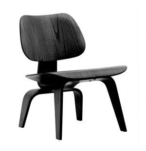 Chaise LCW en frêne noir