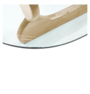 Table basse Noguchi érable & verre - Vitra