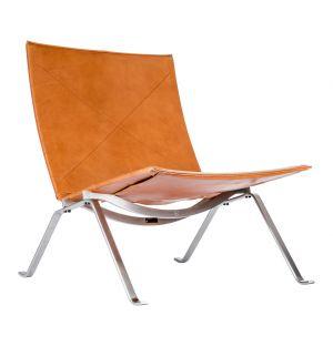 Chaise Pk22 Cuir Elegance - Fritz Hansen