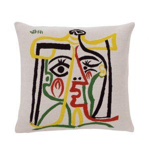 Housse de coussin Picasso - Visage de femme