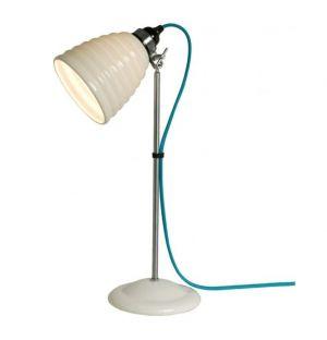 Lampe de table bleue Hector Bibendum
