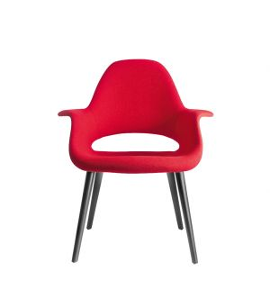Chaise rouge Organic
