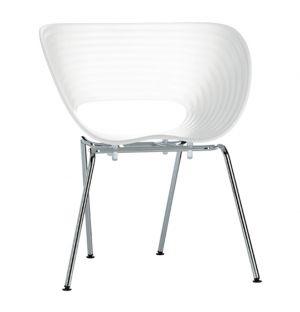 Chaise Tom Vac blanche - Vitra