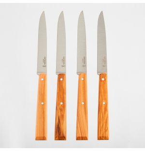 Coffret de 4 couteaux de table Bon Appetit N°125 Sud