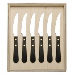 Coffret 6 couteaux à steak Provencal