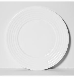 Assiette Fine Dining Relief 28 cm