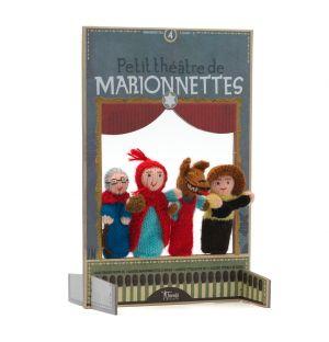 Petit théâtre de marionnettes Chaperon Rouge