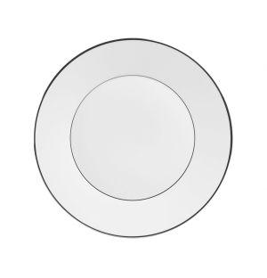 Assiette Platinum en porcelaine - 23 cm