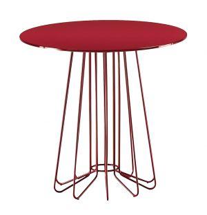 Table basse Smallwire rouge D.55 cm - Zanotta