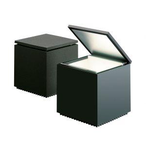 Lampe noire Cubo Led