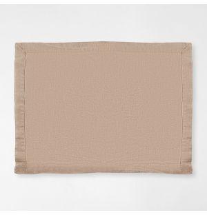 Set de table en lin naturel - 38 x 50 cm