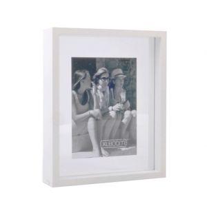 Cadre Floating Box blanc - 20 x 25 cm