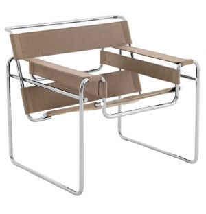 Fauteuil Wassily en toile - Knoll