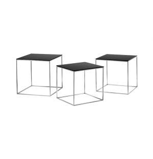 Set de 3 tables gigognes PK 71 - Fritz Hansen