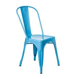 Chaise bleu azur A