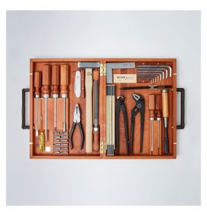 Coffret d'outils en bois de poirier WohnGeist