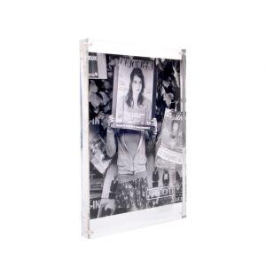 Cadre magnétique en acrylique - 21 x 30 cm