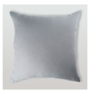 Housse de coussin en lin gris - 65 x 65 cm