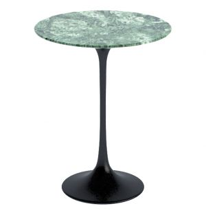 Table basse marbre Alpi Verde D.51cm - Knoll