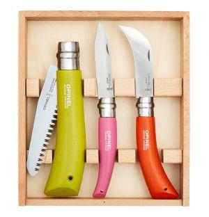 """Coffret """"Les trois outils du jardinier"""""""