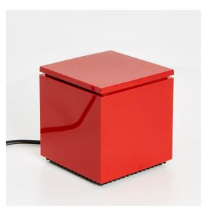 Lampe rouge Cuboled