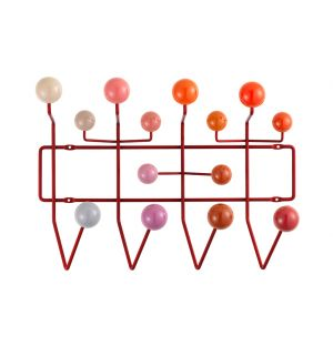Portemanteau Hang It All - nuances de rouges - Vitra