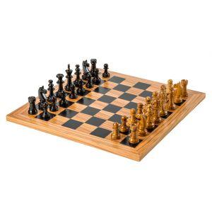 Jeu d'échecs en olivier