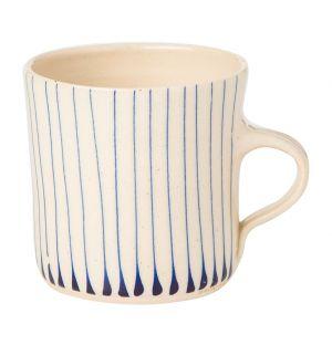 Mug droit Stripe bleu - grand modèle