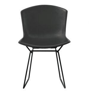 Chaise Bertoia Plastic Side Chair - noire