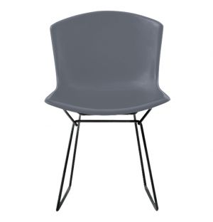 Chaise Bertoia Plastic Side Chair - grise