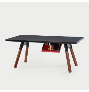 Table de ping-pong You & Me noir - 180 cm