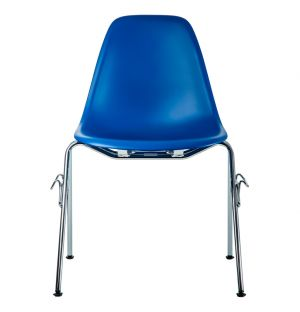 Chaise DSS empilable bleu marine - Vitra