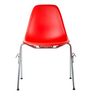 Chaise DSS empilable classic red - Vitra