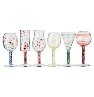 Set de 6 verres à liqueur Maggiolini