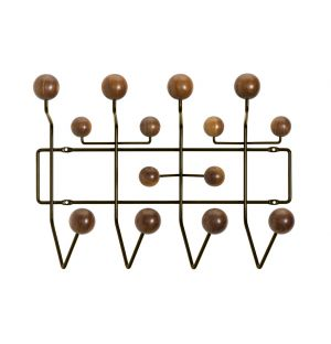 Portemanteau Hang It All - boules noyer - Vitra