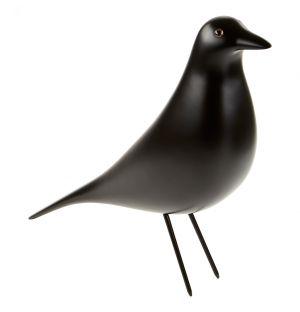 Eames House Bird en bois d'aulne noir