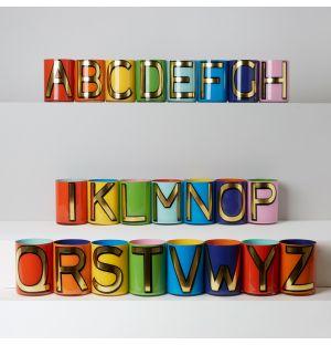 Pots à crayons Alphabet
