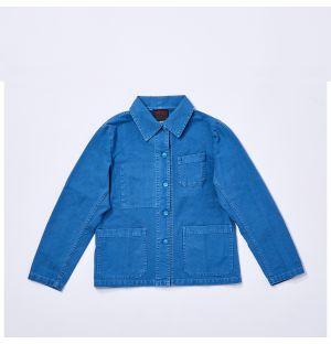 Veste de travail bleue pour femme 5C