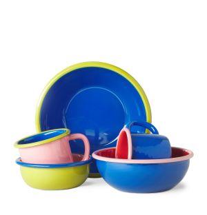 Collection de vaisselle Colorama en émail