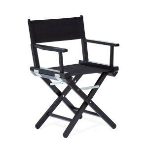 Chaise pliante en hêtre noir