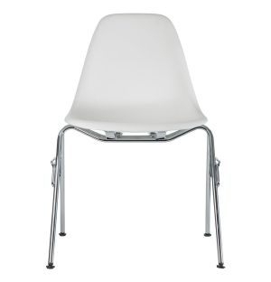 Chaise empilable DSS-N Plastic - piètement chromé