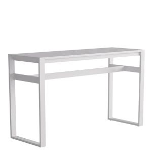 Table haute Eos en aluminium