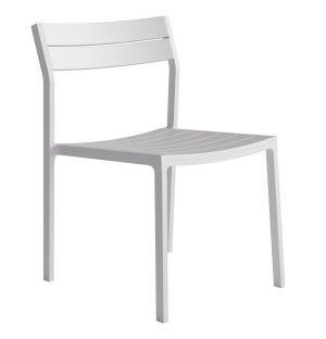 Chaise Eos en aluminium
