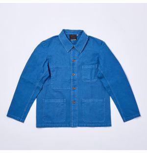 Veste de travail bleue pour homme 5C