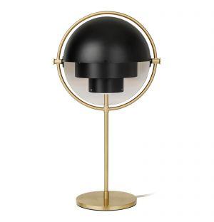 Lampe de table Multi Lite noire et laiton